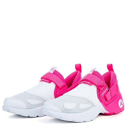 JORDAN KIDS JORDAN TRUNNER LX (GG) SHOES HYPER PINK WHITE SIZE 8 by Jordan