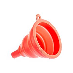 Generic Silicone Collapsible Funnel Kitchen Gadget
