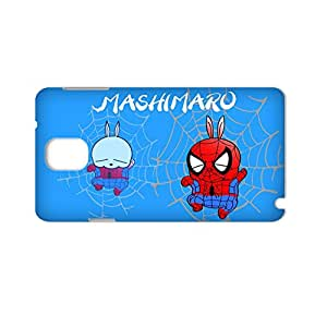 Generic Creativity Back Phone Covers Printing With Mashimaro For Samsung Galaxy Note3 Full Body Choose Design 1-3
