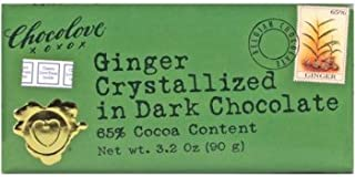 product image for 65% Dark Chocolate - with Crystallized Ginger, 12 Units / 3.2 oz