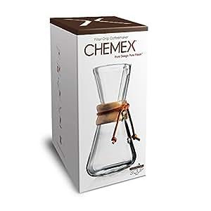 Amazon.com: Chemex 1 A 3 Taza de café (Cristal Soplado A ...
