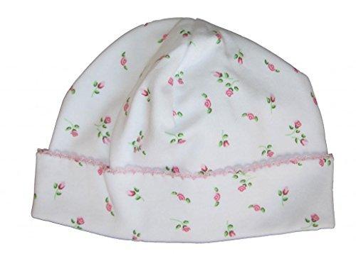 (Kissy Kissy Baby Girls Garden Roses Print Hat- Newborn)