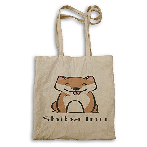 Ich liebe Hunde Shiba Inu Hundeliebhaber Neu Tragetasche c882r