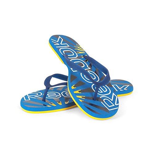 45 para Reebok EU Azul Sandalias de 5 Caucho Azul Claro Hombre 668RZw