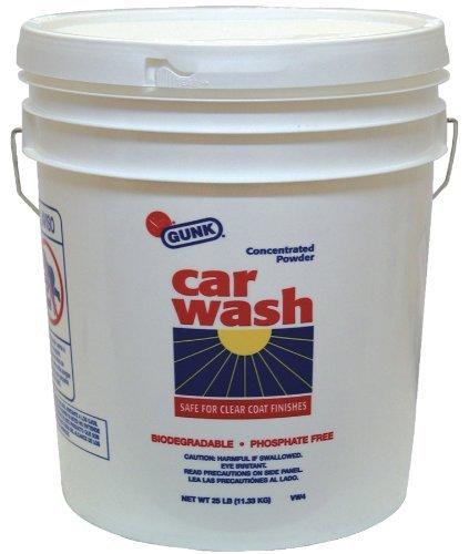 Gunk VW4 Concentrated Car Wash Powder - 25 lb.