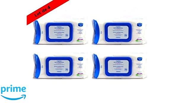 Mustela Baby Wipes - 4 Packs by EXPANSCIENCE: Amazon.es: Salud y cuidado personal