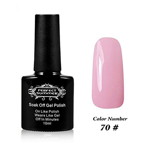 Perfect Summer UV/LED Soak Off Gel Nail Plosh French Manicur