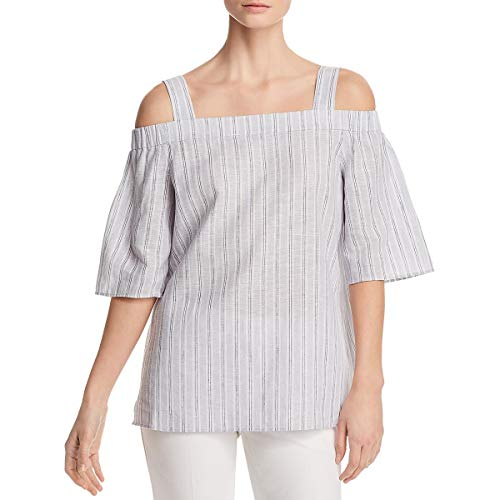 Lafayette 148 New York Womens Cold Shoulder