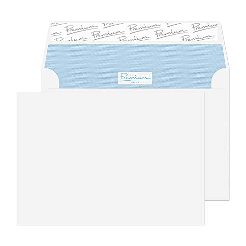 - Blake Premium Office C6 114 x 162 mm 120 GSM Peel & Seal Wallet Envelopes (31214) Ultra White Wove - Pack of 50