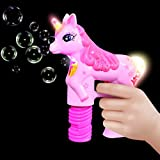 Haktoys Unicorn Bubble Shooter Gun | Battery