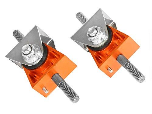 aFe Power 450-401007-N PFADT Series Orange Engine Mount Set