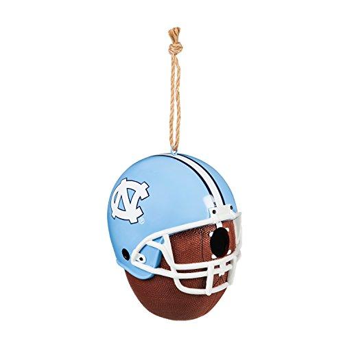 Team Sports America University of North Carolina Team Logo and Ball Hanging Birdhouse