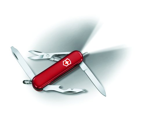Victorinox Swiss Army Midnite Manager, Red, Outdoor Stuffs