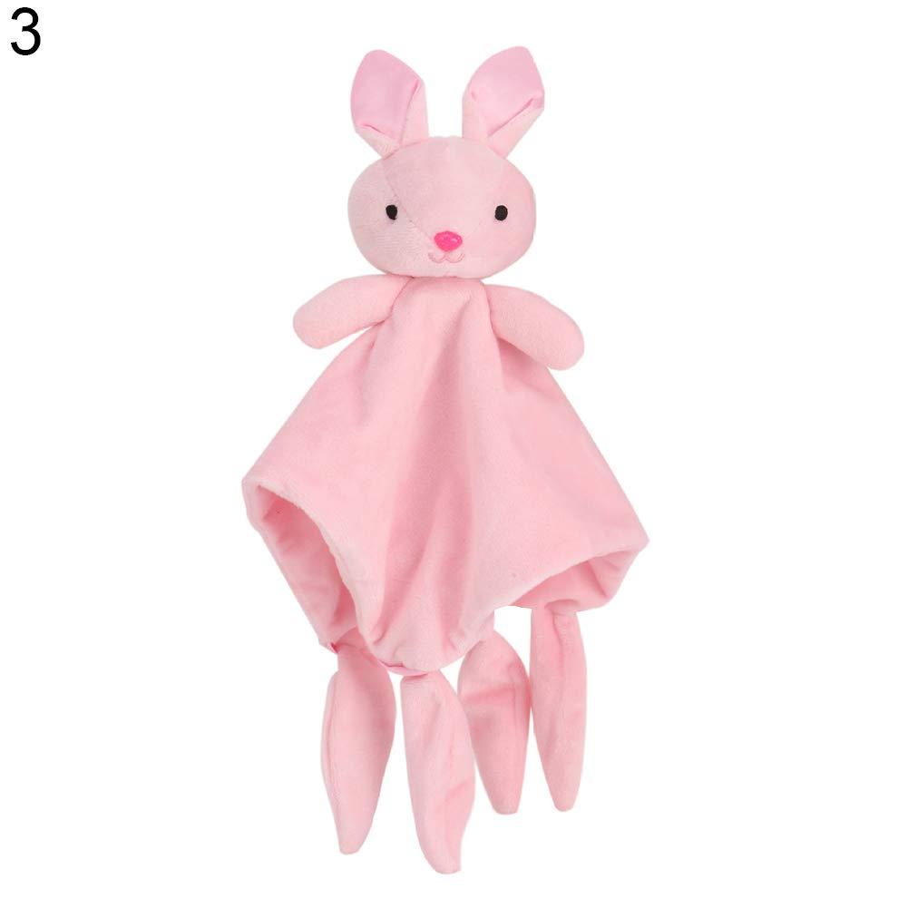 BrawljRORty Baby Toys, Sleeping Towel Baby Toy Cartoon Dog Sheep Rabbit Monkey Elephant Soothing Doll
