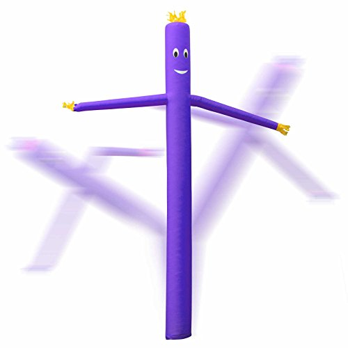 Inflatable HQ 20 ft. Tall Air Inflatable Dancer Tube Puppet - Purple (Blower Not Included) Photo #4