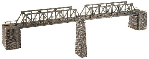 Used, Faller 222578 Girder Bridges with Walkway N Scale Building for sale  Delivered anywhere in USA
