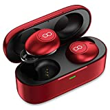 Bluetooth Headphones - Losei True Wireless Earbuds Deep Bass Mini in Ear Bluetooth Earphones HD Stereo Sound Headset with Charging Case and Built in Mic for iPhone iPad Samsung and Most Andorid Phones