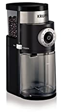 Image of the product KRUPS GX5000 Burr Coffee  that is listed on the catalogue brand of KRUPS. This item has been rated with a 5.0 scores over 5