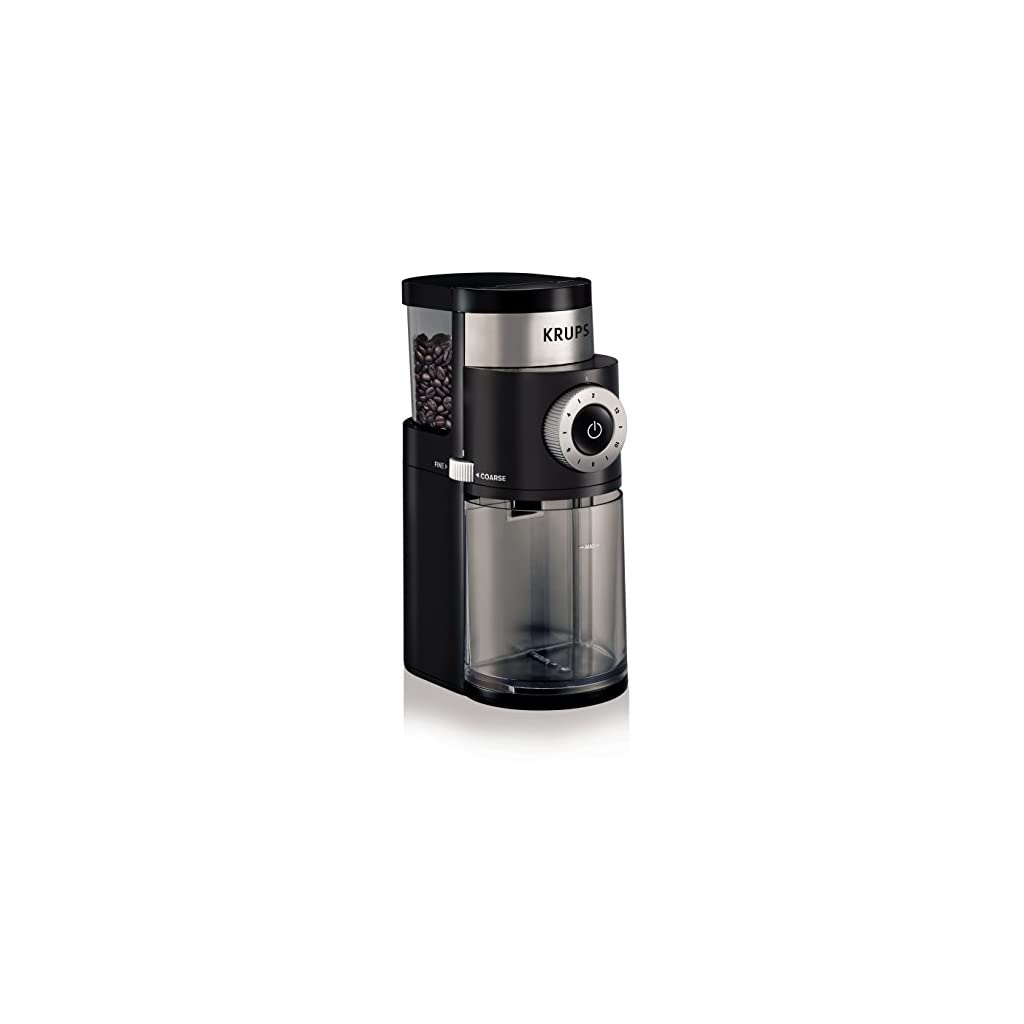 KRUPS GX5000 Professional Electric Burr Coffee Grinder