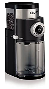 Vacuum Coffee Maker Grind Size : Amazon.com: KRUPS GX5000 Professional Electric Coffee Burr Grinder with Grind Size and Cup ...
