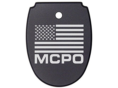 NDZ Performance For SIG SAUER P320 P250 Mag Plate Black 9mm .40 .357 Models Us Flag Master Chief Petty Officer