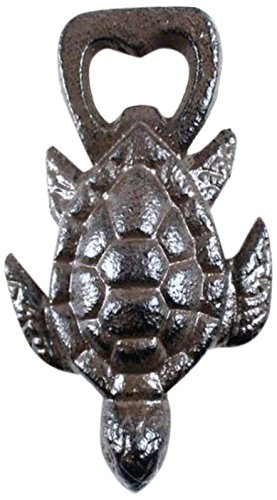Hampton Nautical Cast Iron Turtle Bottle Opener 4.5 Inch – Cast Iron Bottle Opener – Rustic Sealife Gift Review