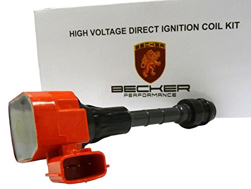 Becker Bobina de encendido de alto rendimiento para Convertible 07 nissan- 350z Base V6 3.5L vq35hr: Amazon.es: Coche y moto