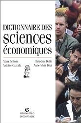Dictionnaire des sciences économiques, 3e édition