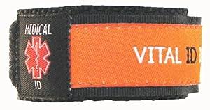 Vital ID Medical ID Wrist Band - Child