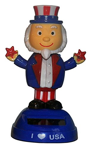 (CoolKids Uncle Sam Patriotic Solar Dancing I Love USA Character)