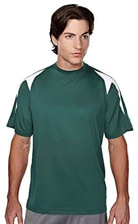 Tri-Mountain Men's Performance UltraCool Crewneck Shirt. 028 Wildcat