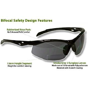 b14c6a7db7775 Dewalt DPG59-215C Reinforcer Rx-Bifocal 1.5 Smoke Lens High ...