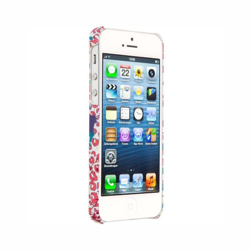 Chiemsee 04024 TAHAT Koralle Cover Case für Apple iPhone 5 / 5S