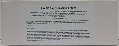 Babor Fluids FP PURE Purifying Active Fluid 24 Amps x 2 ml Professional Size (3X more)