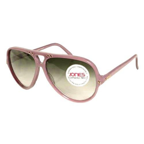 Jones Violet Aviator Sunglasses with Gray Gradiant Lenses. Model: - Jones Sunglasses