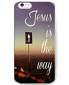 UKASE Quotes Series Hard Plastic Back Case Cover Compatible with iPhone 6 (4.7 inch) - Jesus Is The Way