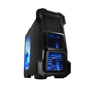 Raidmax HELIOS - Caja de ordenador (SECC, Fondo, 1x 120 mm, 120 mm, 120 mm, 225 mm) Negro