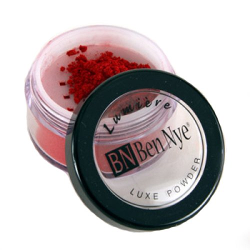 Ben Nye Lumiere Luxe Shimmer Powder - Cherry Red LX-155 (0.21 (Luxe Shimmer)