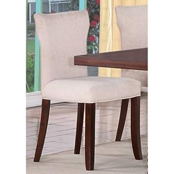 Progressive Furniture P83561 Hightower Upholstered Chair In Mahogany