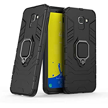 Amazon.com: Dretal Galaxy J6 2018 Case, Carbon Fiber Shock ...