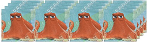 Octopus Napkin (Finding Dory Party Supplies - Party Supplies - Beverage Napkins (16))