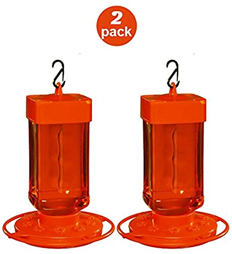 First Nature 3088 32-ounce Oriole Feeder (2 Pack) (32 Oz Oriole Feeder)