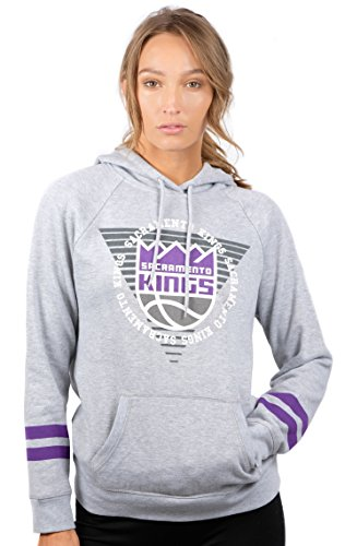 NBA Sacramento Kings Women's Fleece Hoodie Pullover, used for sale  Delivered anywhere in USA