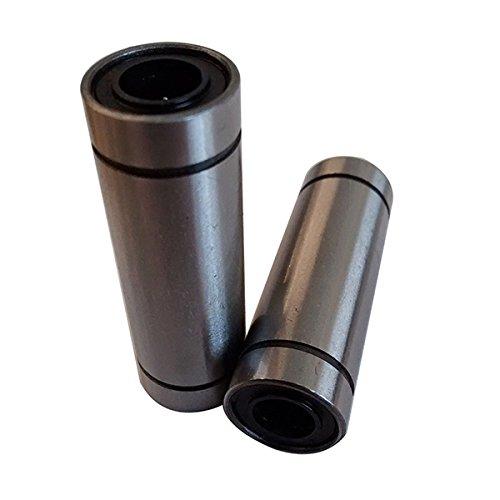 TOOGOO(R) 4pcs 3D Printer - LM8LUU - 45mm Long Linear Bearing - 8mm shaft - Reprap CNC - LM8UU