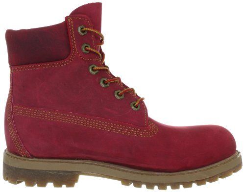 timberland femme rouge bordeaux
