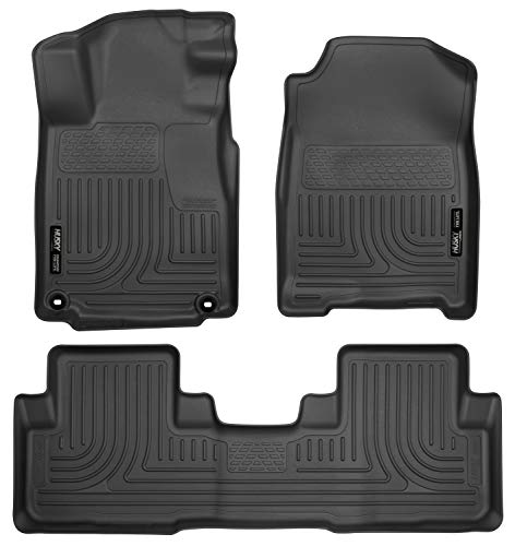 - Husky Liners Front & 2nd Seat Floor Liners (Footwell Coverage) Fits 12-15 CR-V