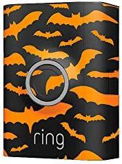 Ring Video Doorbell 2 Holiday Faceplate - Bats