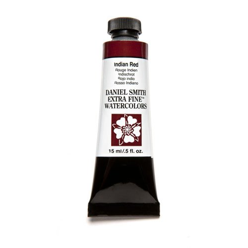Daniel Smith Extra Fine Watercolor 15ml Paint Tube, Indian (Red Indian Watercolor)