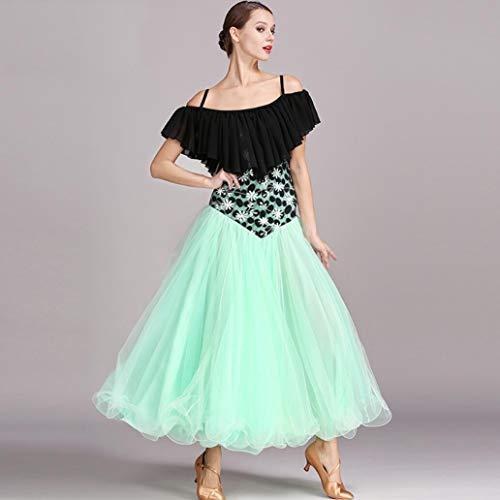 Concorrenza Moderno Costume filato Per Donne Pizzo Da Densità Le Ad Abito Prestazioni amp;x Z Ballo La Composito chiffon Alta Tridimensionali x0wCn8v1q