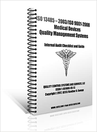 ISO 13485 Audit Checklist (Medical Devices Quality Management